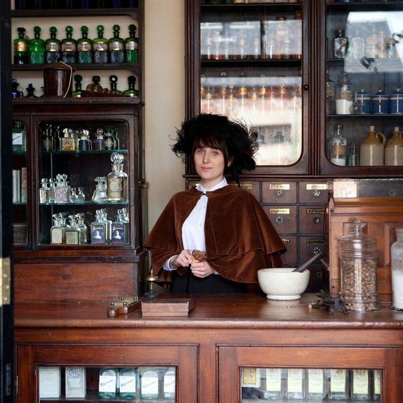 Victorian Street Chemist