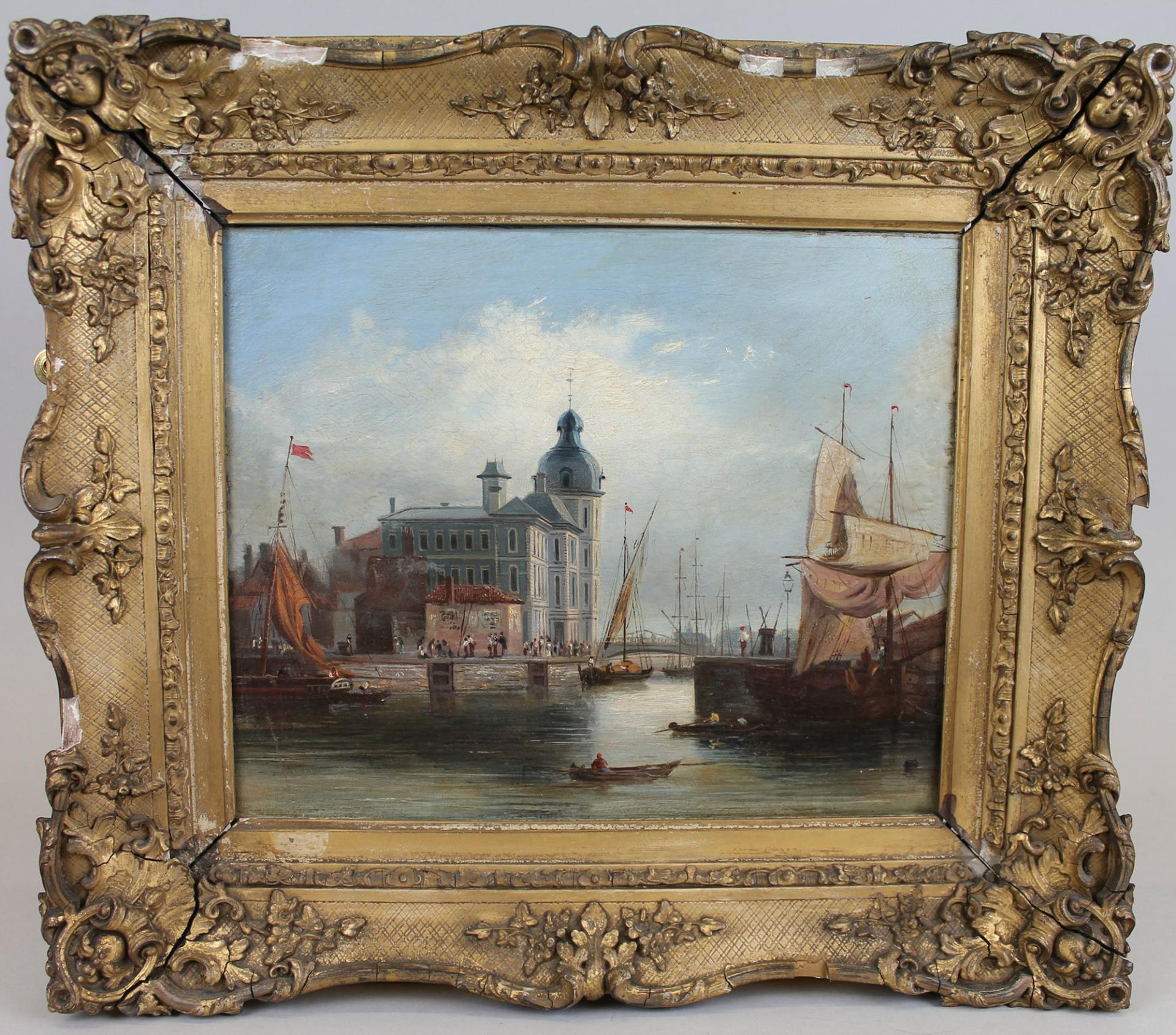 Dutch Canal Artwork