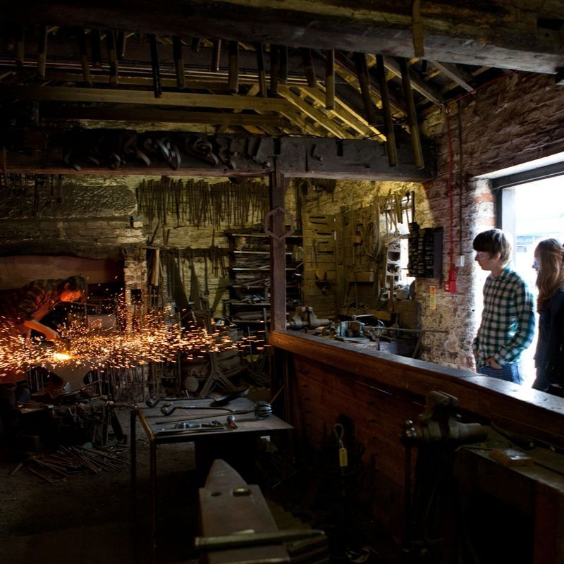 Victorian Street Blacksmith