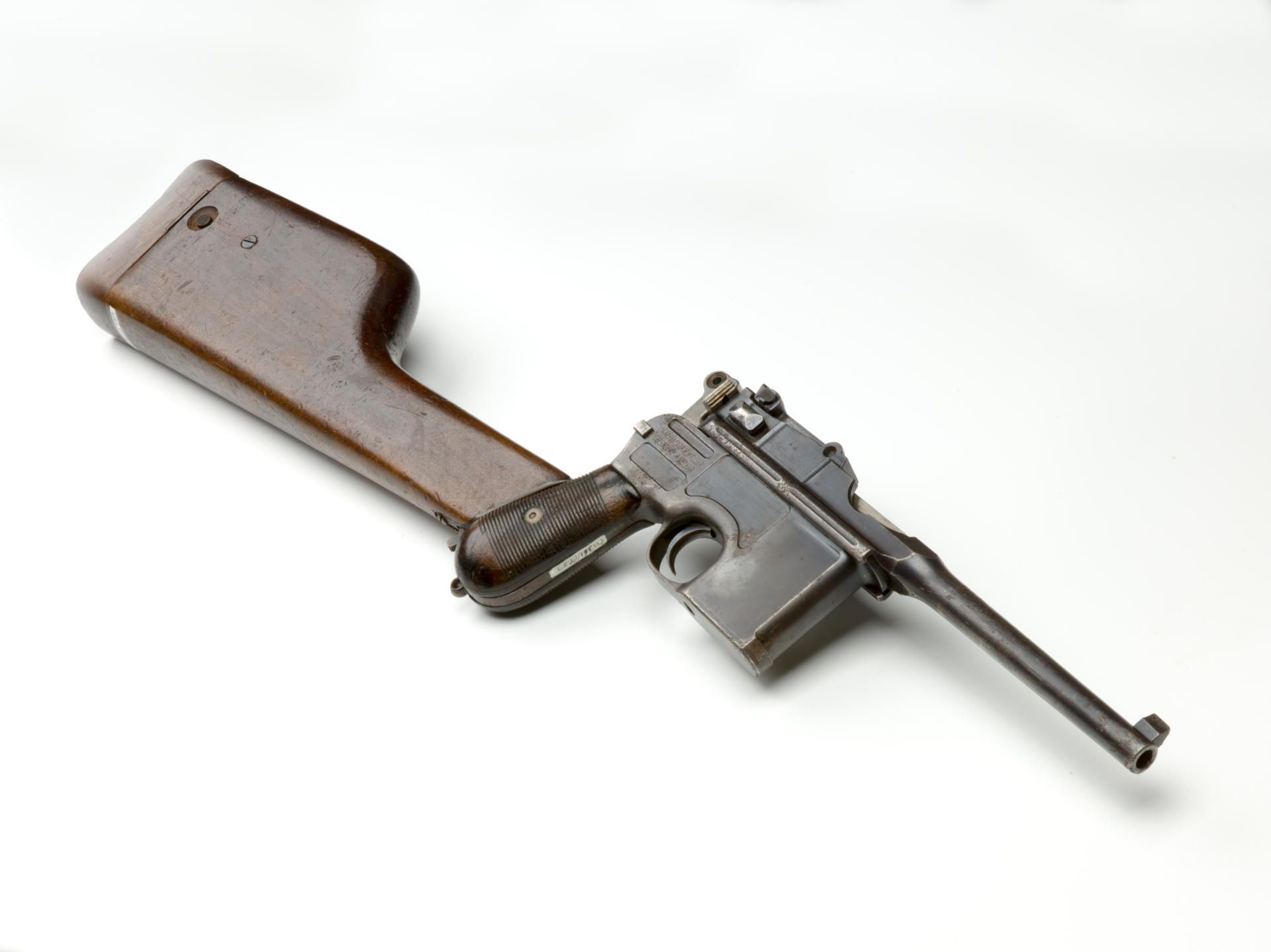 C96 Broomhandle Pistol