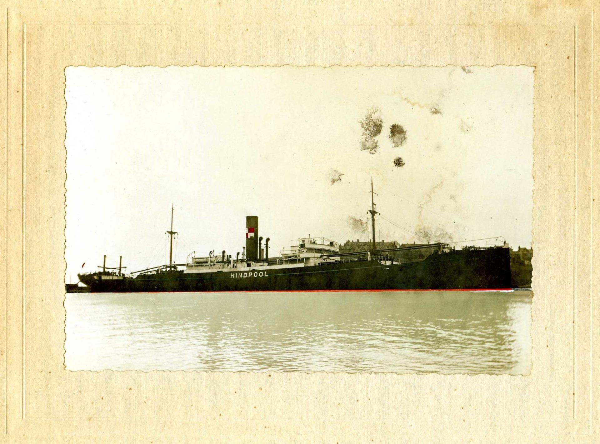 Sepia photo of the Hindpool Ship