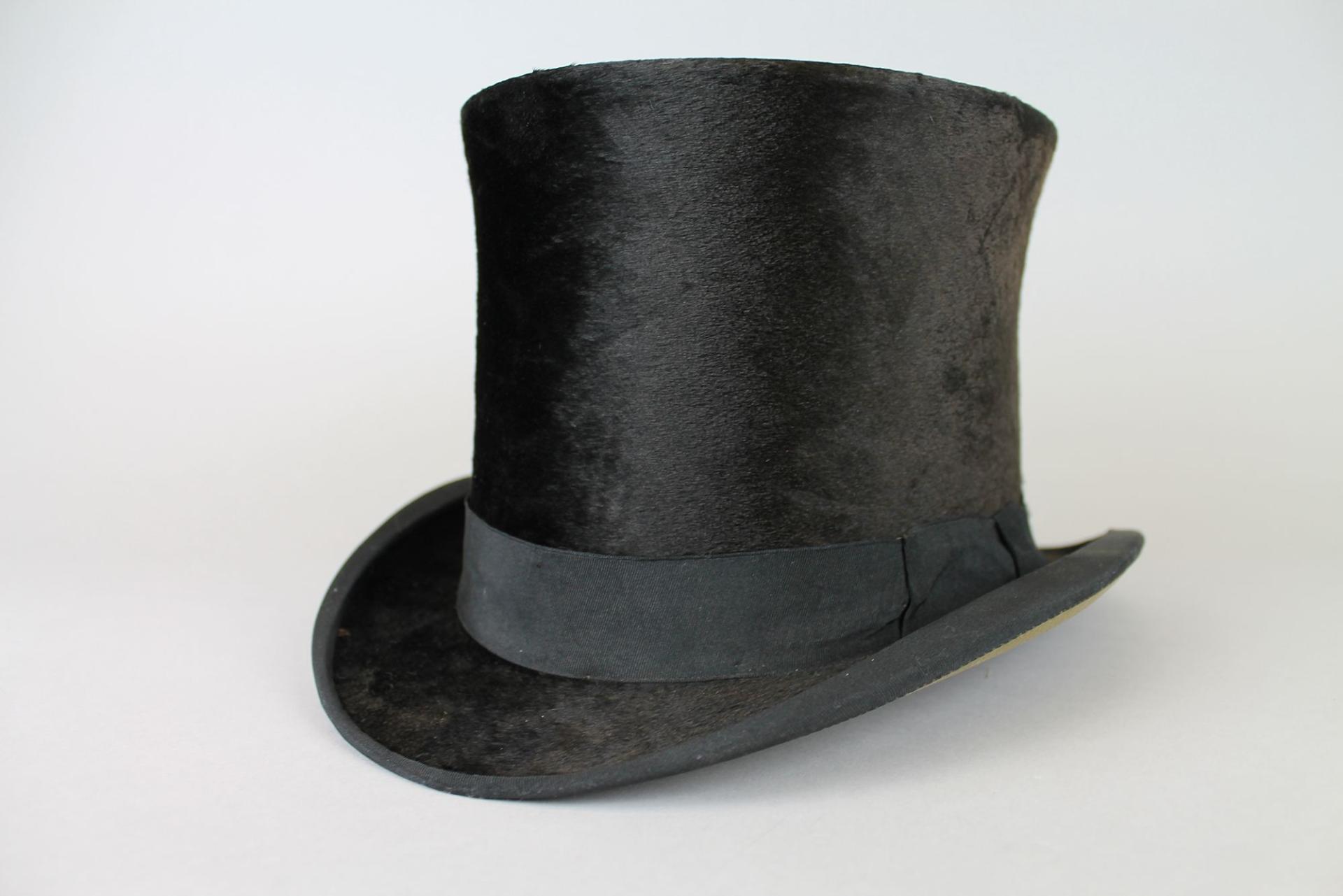 19th century top hat