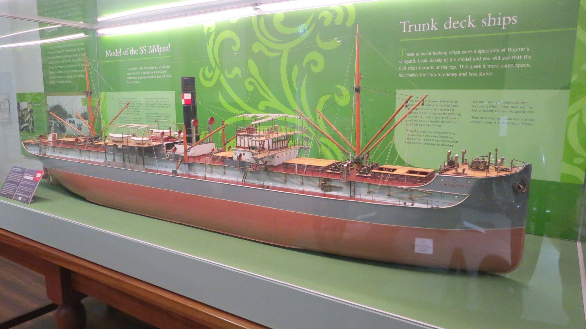 Millpool ship model