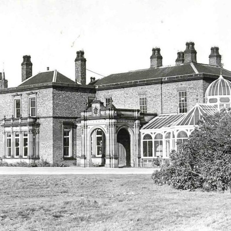 Picture Of Preston Hall Circa 1950