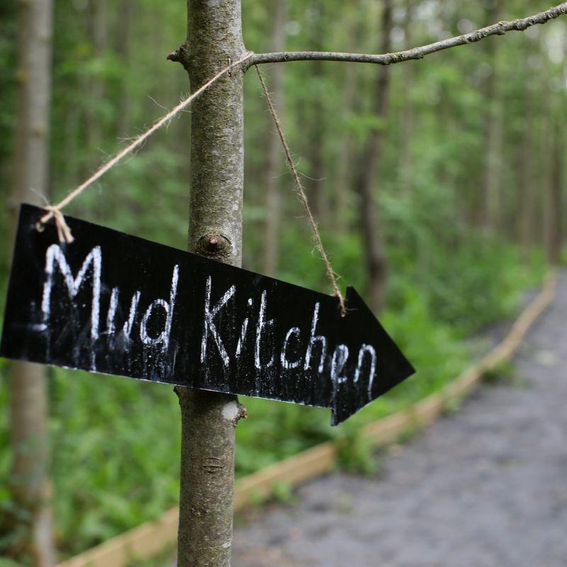 Mud Kitchen Sign