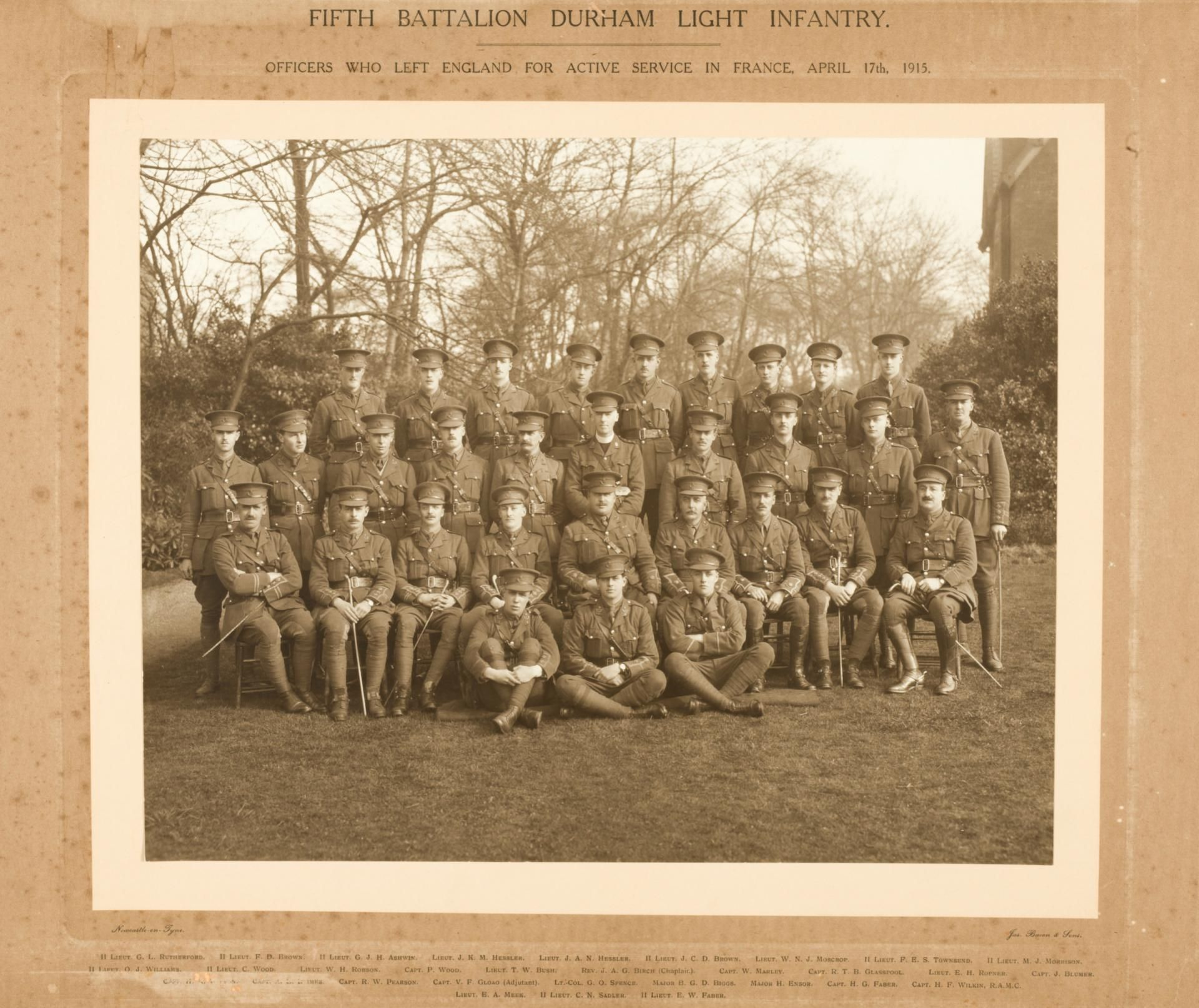 5th Durham Light Infantry
