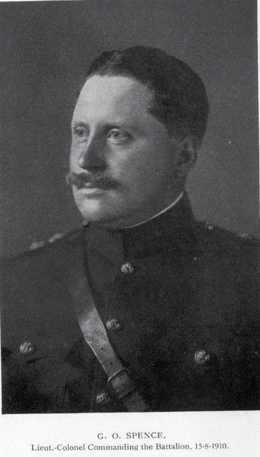 Black and white photograph of Colonel Gilbert Ormerod Spence