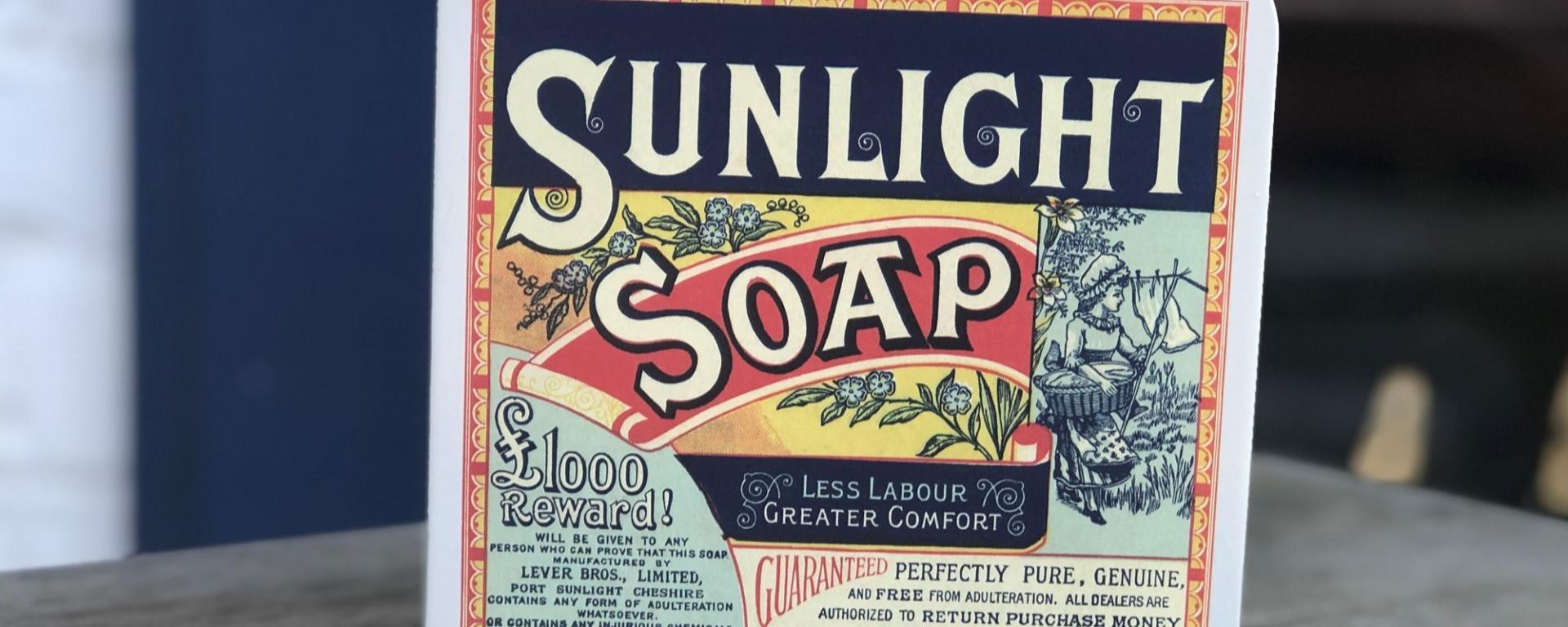 Tin Of Sunlight Soap