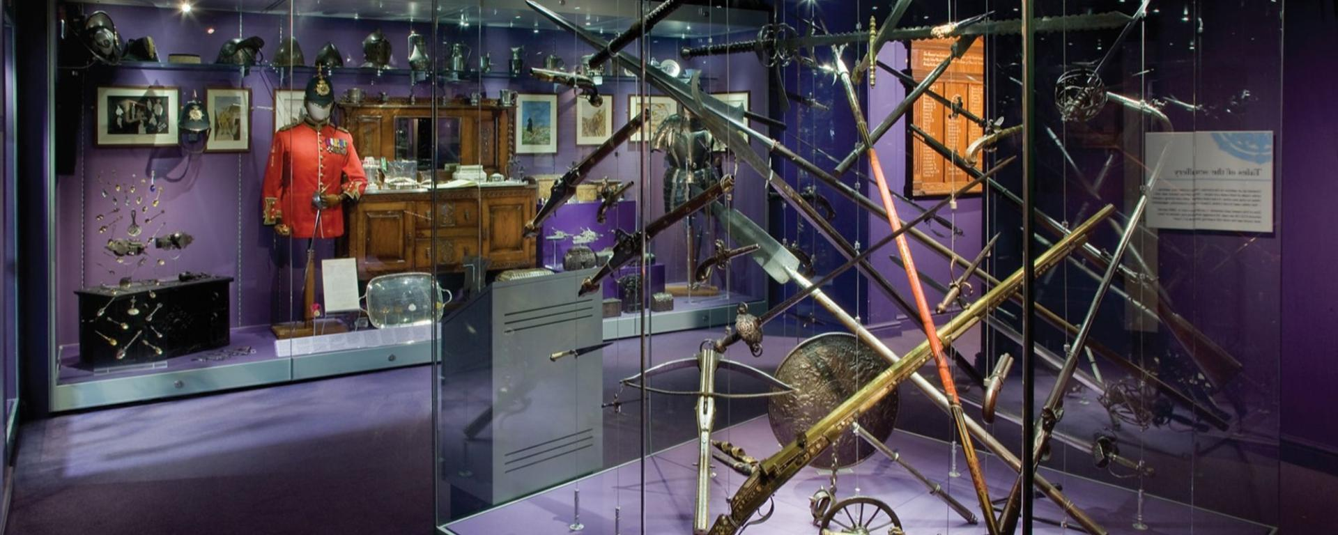 Weapon Explosion In One Of The Galleries In Preston Park Museum