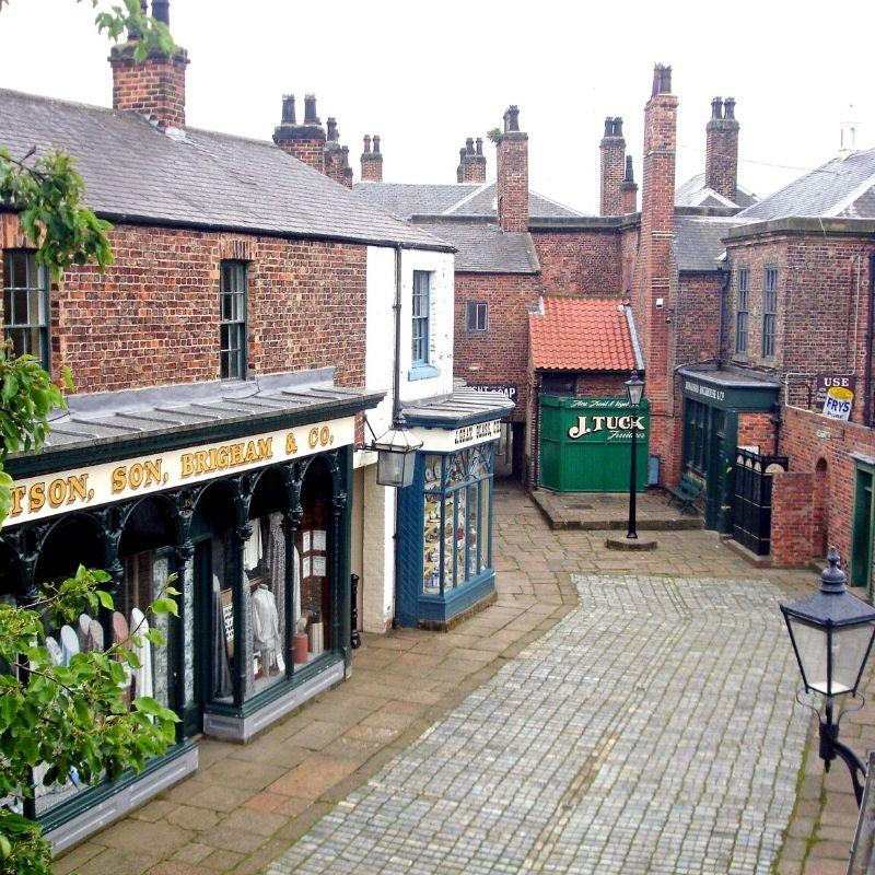 Replica Victorian Street In 2008