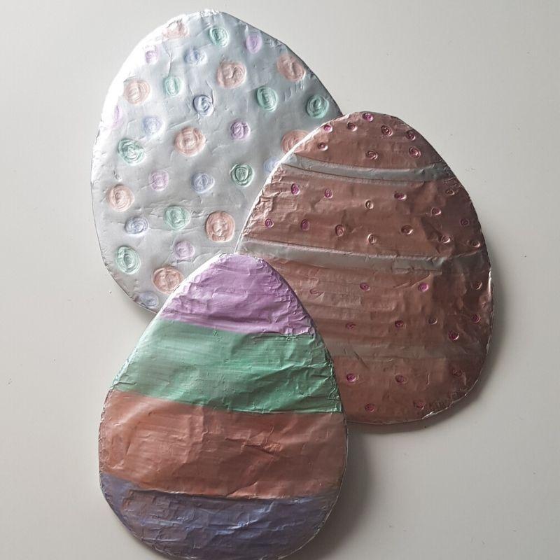Tin Foil Eggs