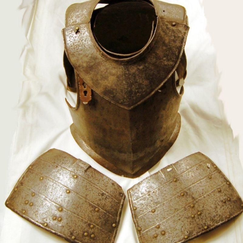 An Image Of Metal Armour