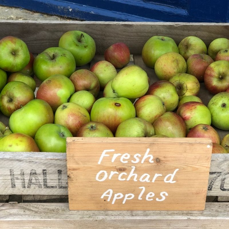 Fresh Orchard Apples For Sale At Preston Park Museum